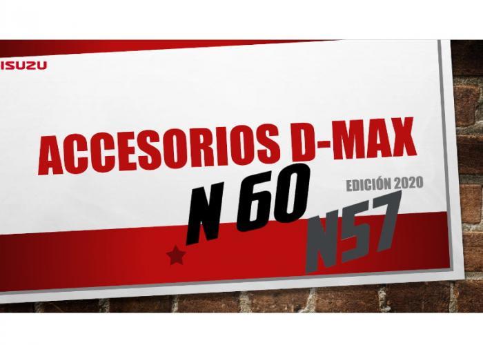 Isuzu D-Max accessorios