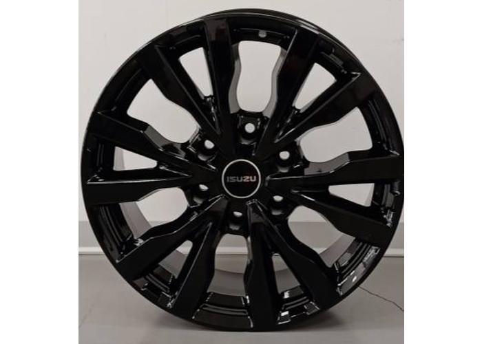 Llantas 18x7,5 barnizado de color negro