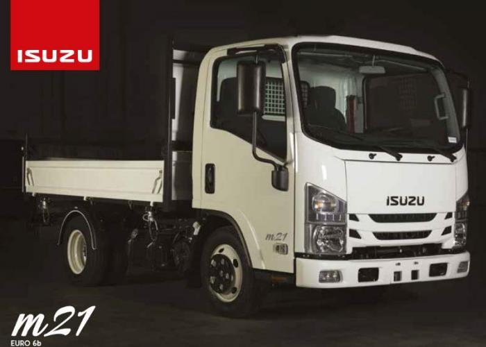 Brochure Isuzu M21 Large Double Cab